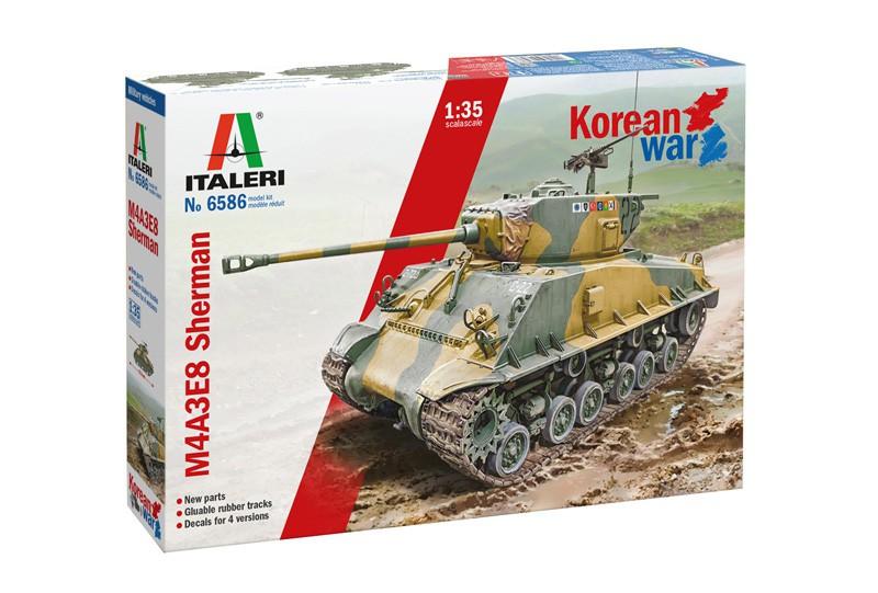 Italeri M4A3E8 Sherman Korean War