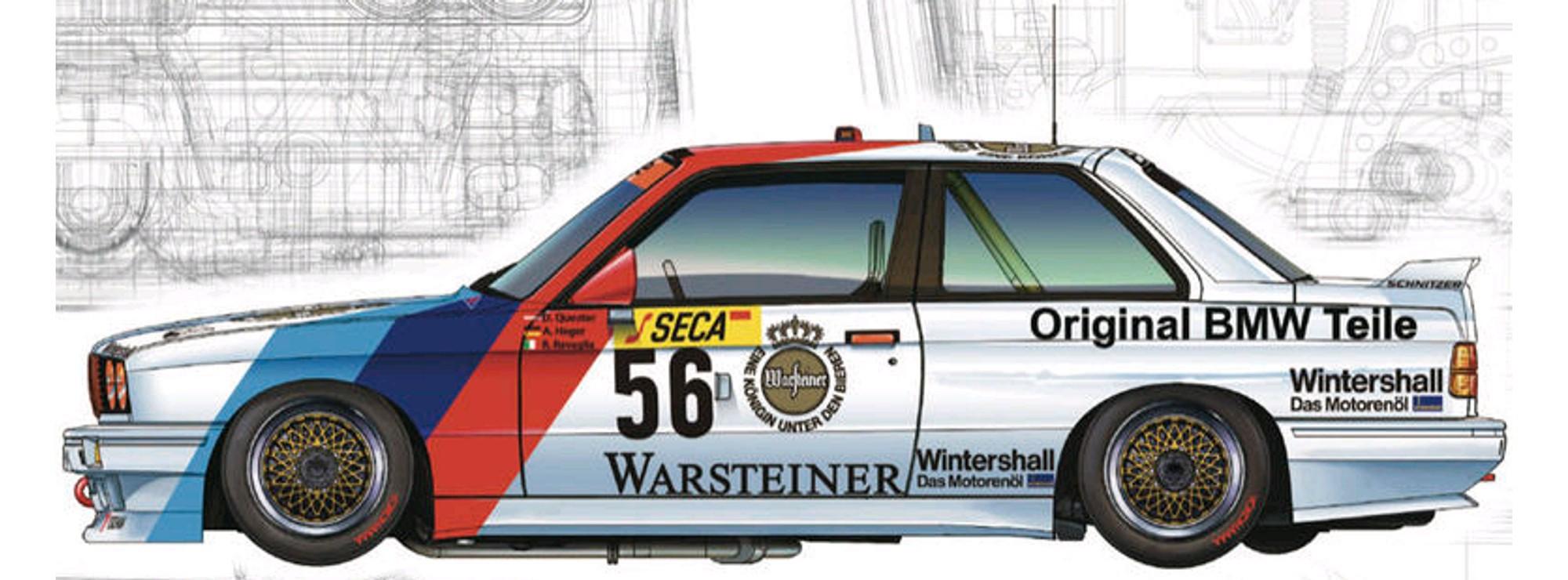 NUNU-BEEMAX BMW M3 E30 '88 Spa 24 Hours Winner