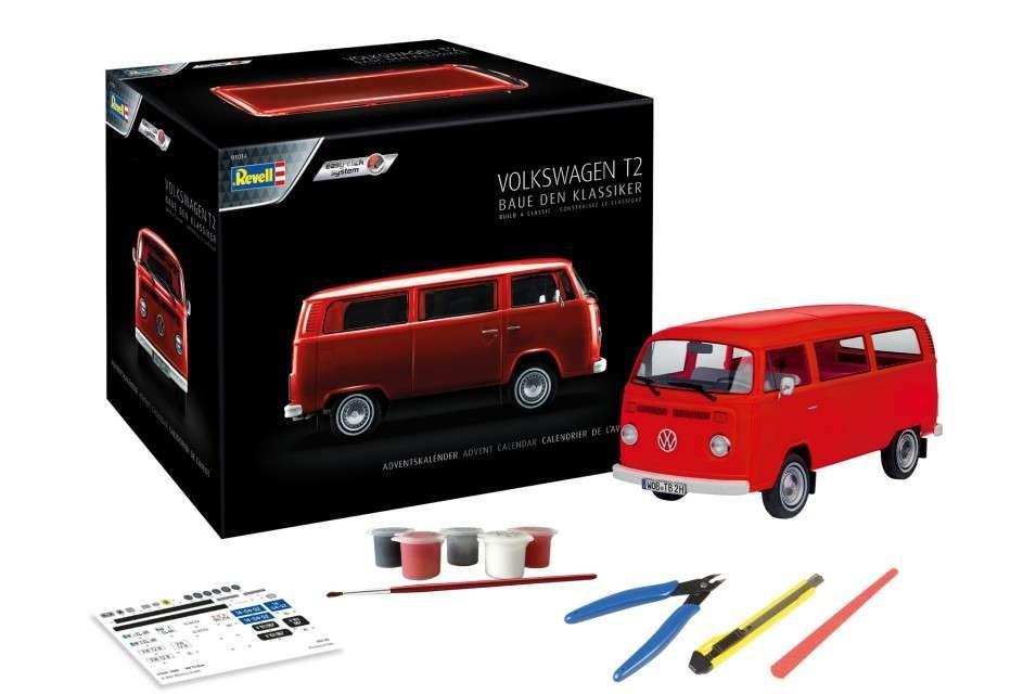 Adventskalender Volkswagen T2 Bus