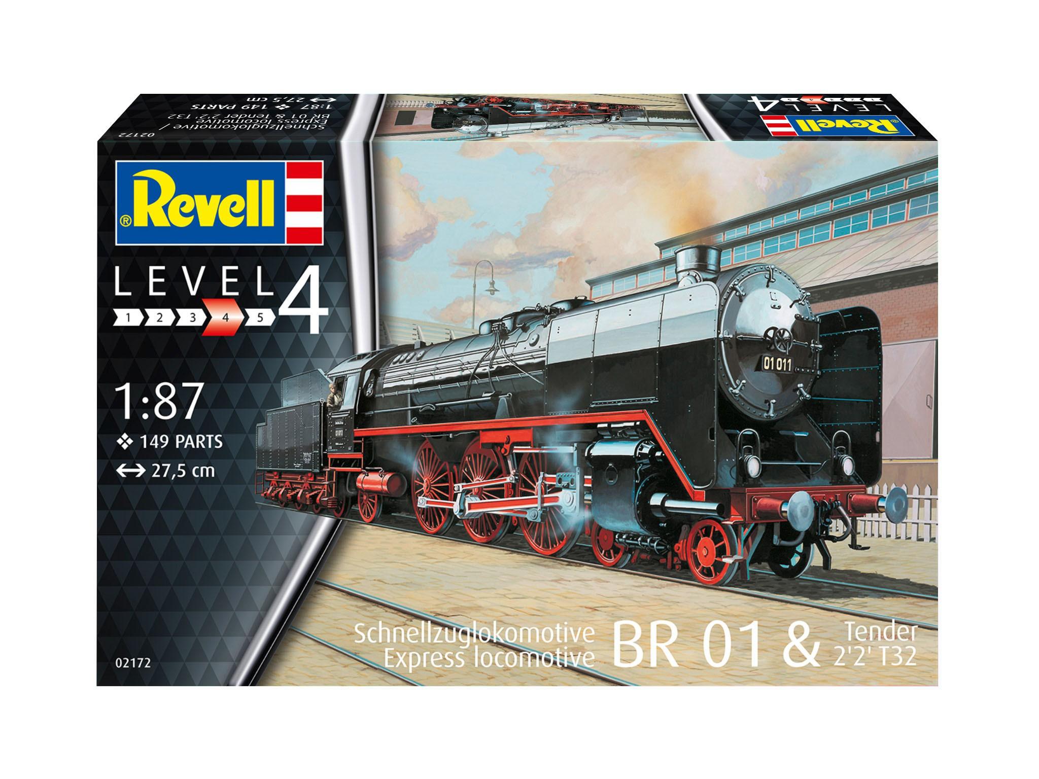 Schnellzuglok BR01 mit Tender 2'2 T32