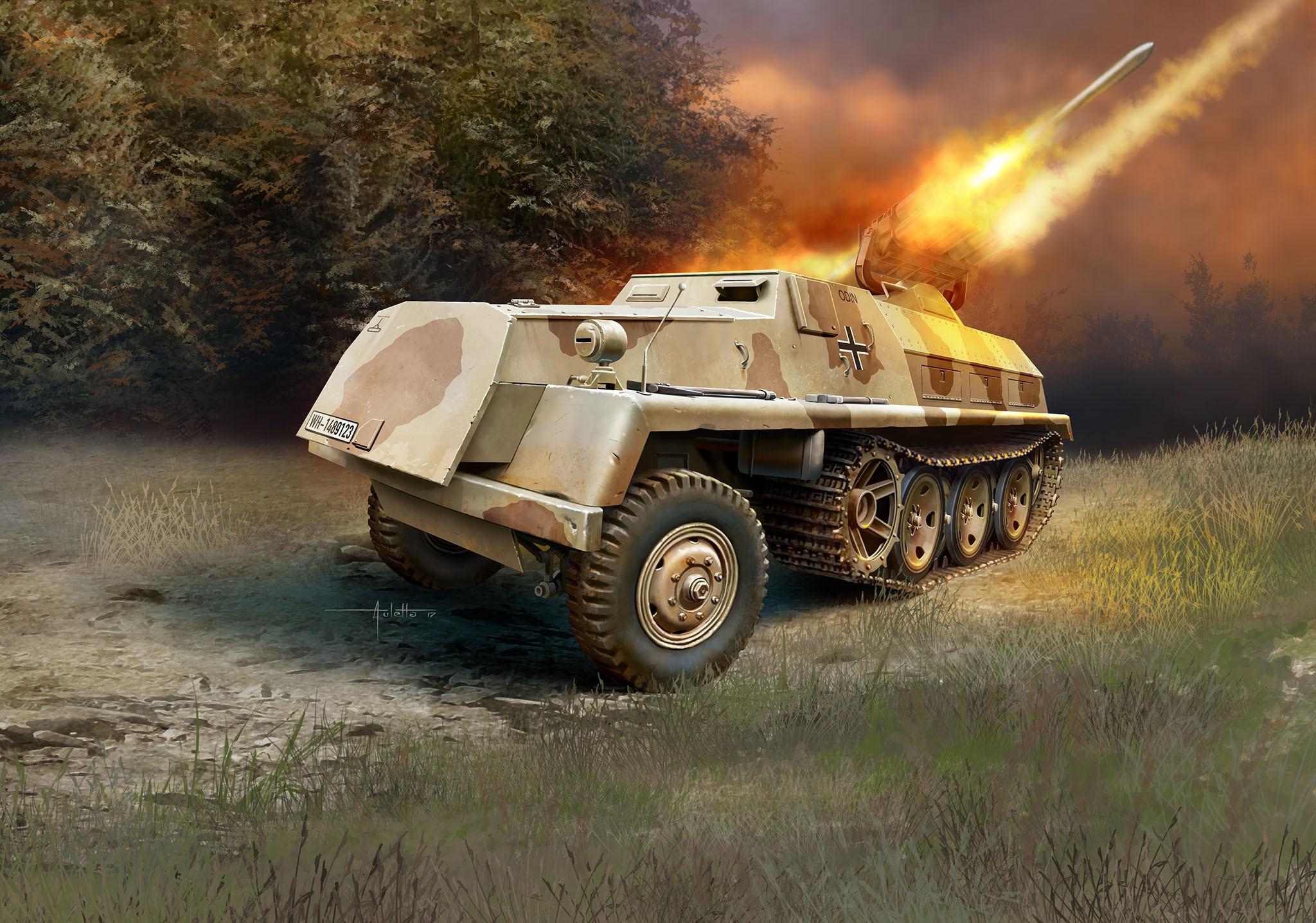 15cm Panzerwerfer 42 auf sWS