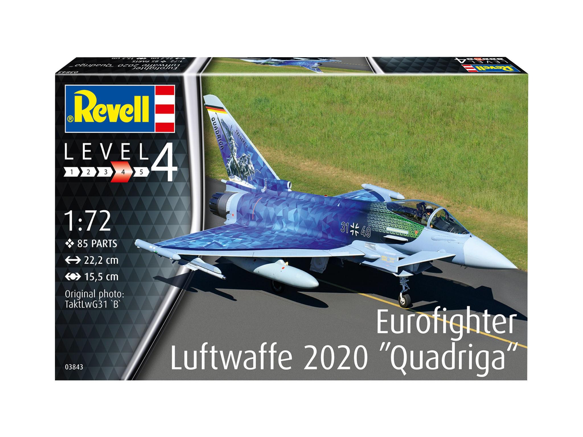 Eurofighter Luftwaffe 2020 Quadriga