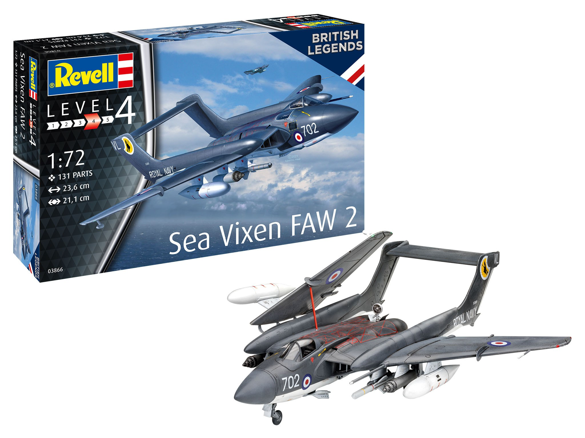 Sea Vixen FAW 2 70th Anniversary