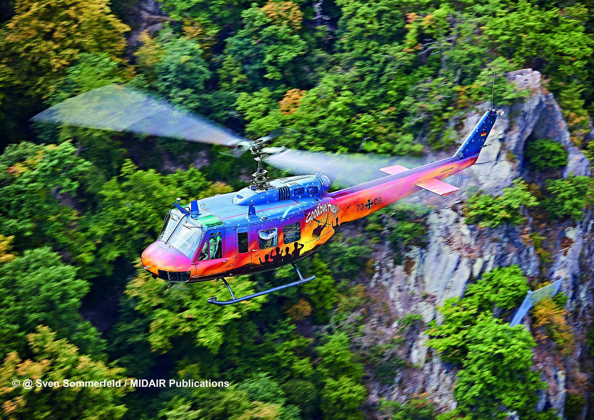 Bell UH-1D - Goodbye Huey - Limited Edition