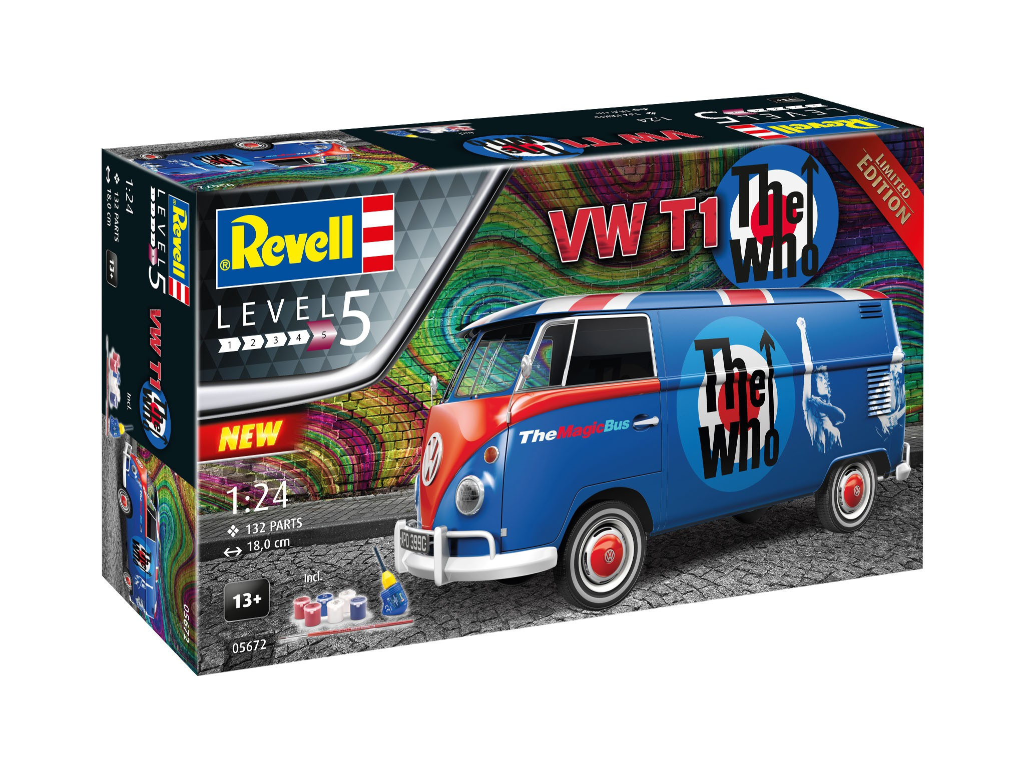 Geschenkset Volkswagen T1 - The Who - Limited Edition