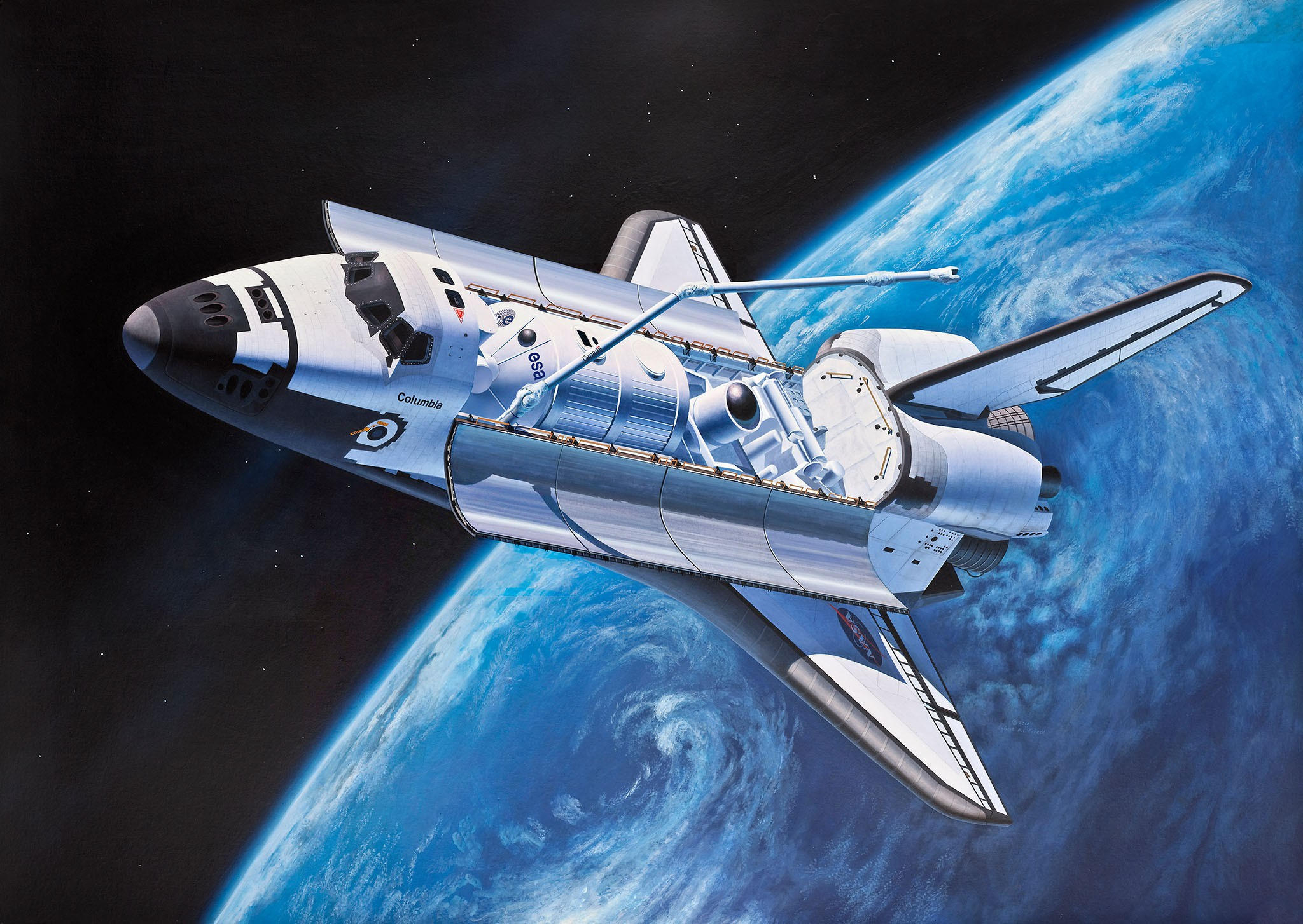 Geschenkset Space Shuttle
