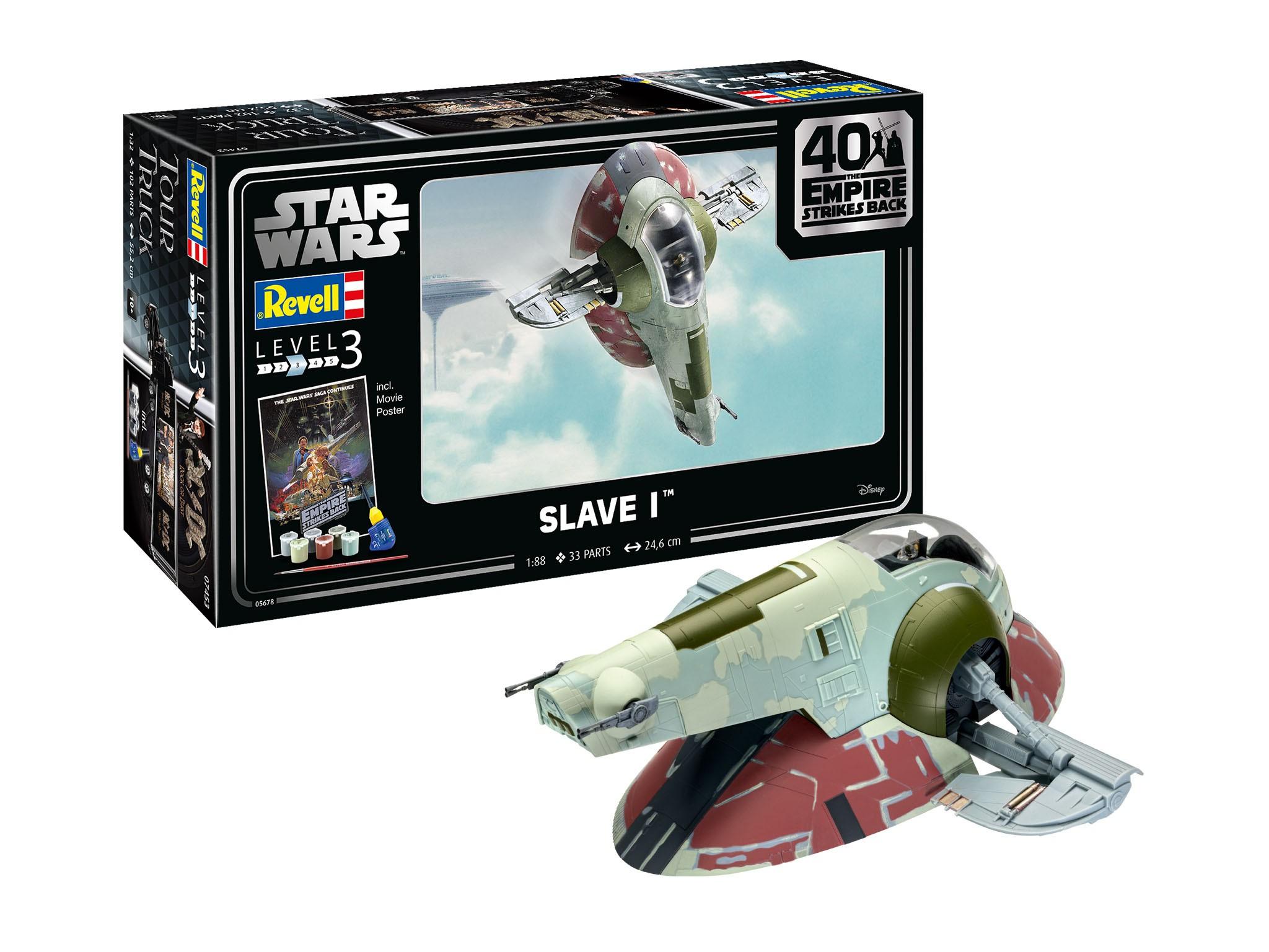 Geschenkset Star Wars Slave I - 40th Anniversary The Empire Strikes Back