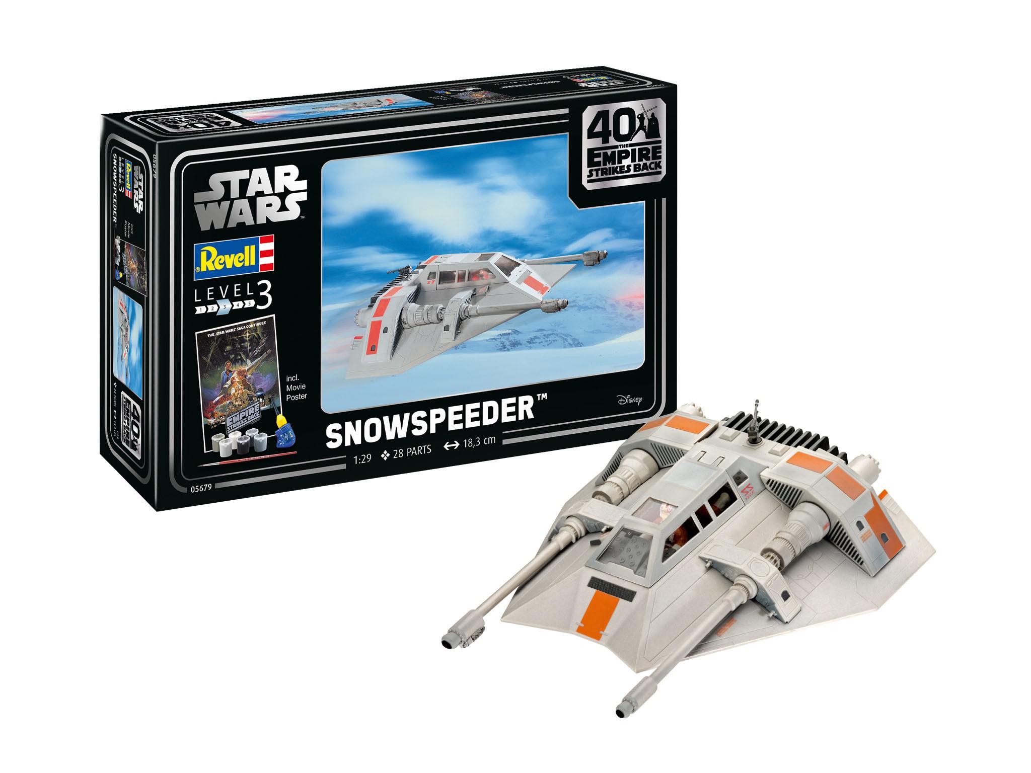 Geschenkset Star Wars Snowspeeder 40th Anniversary - The Empire Strikes Back