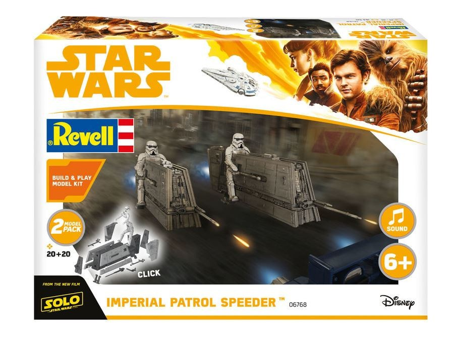 IMPERIAL PATROL SPEEDER - BUILD AND PLAY