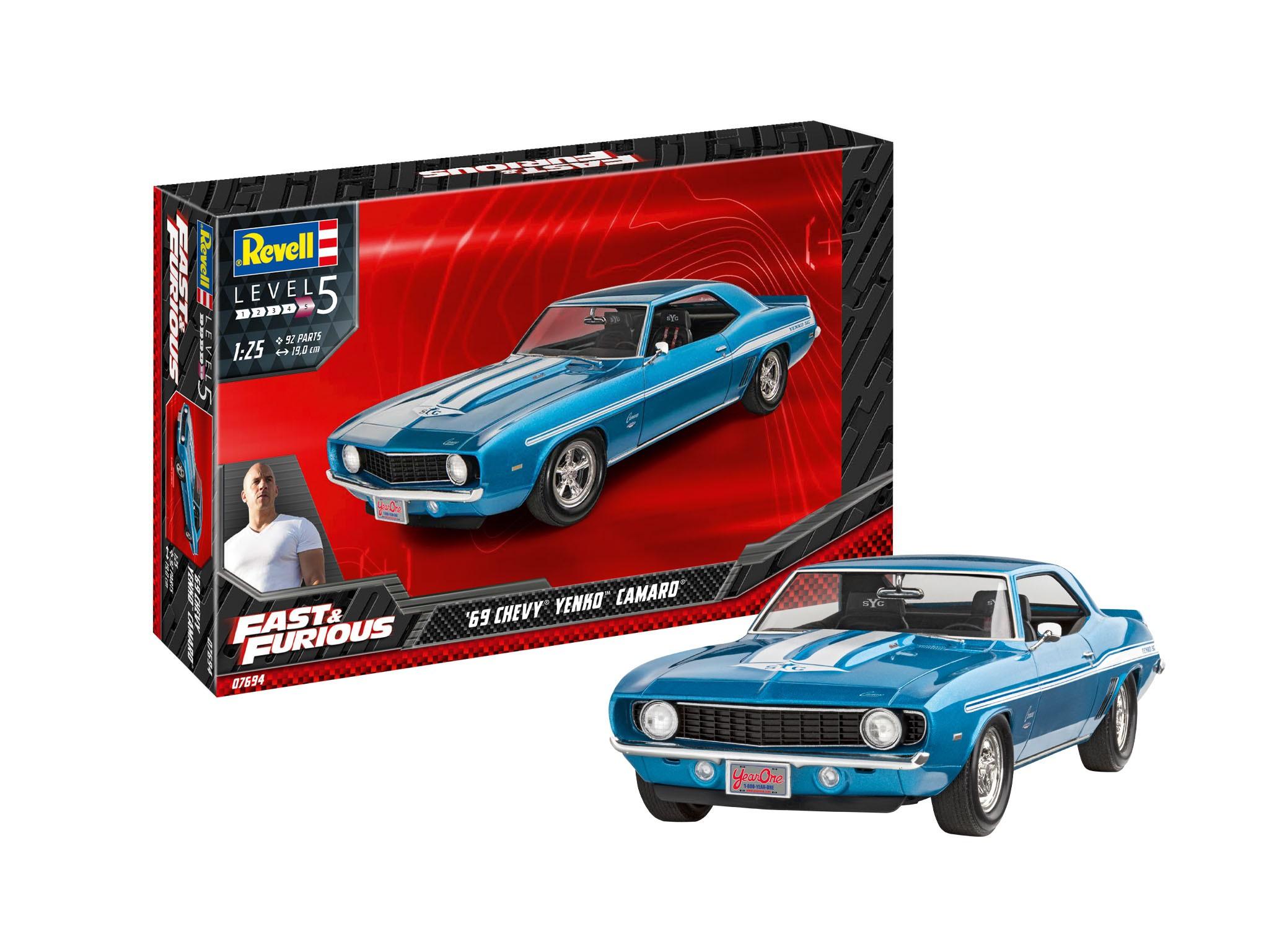 Fast and Furious: 1969 Chevy Camaro Yenko