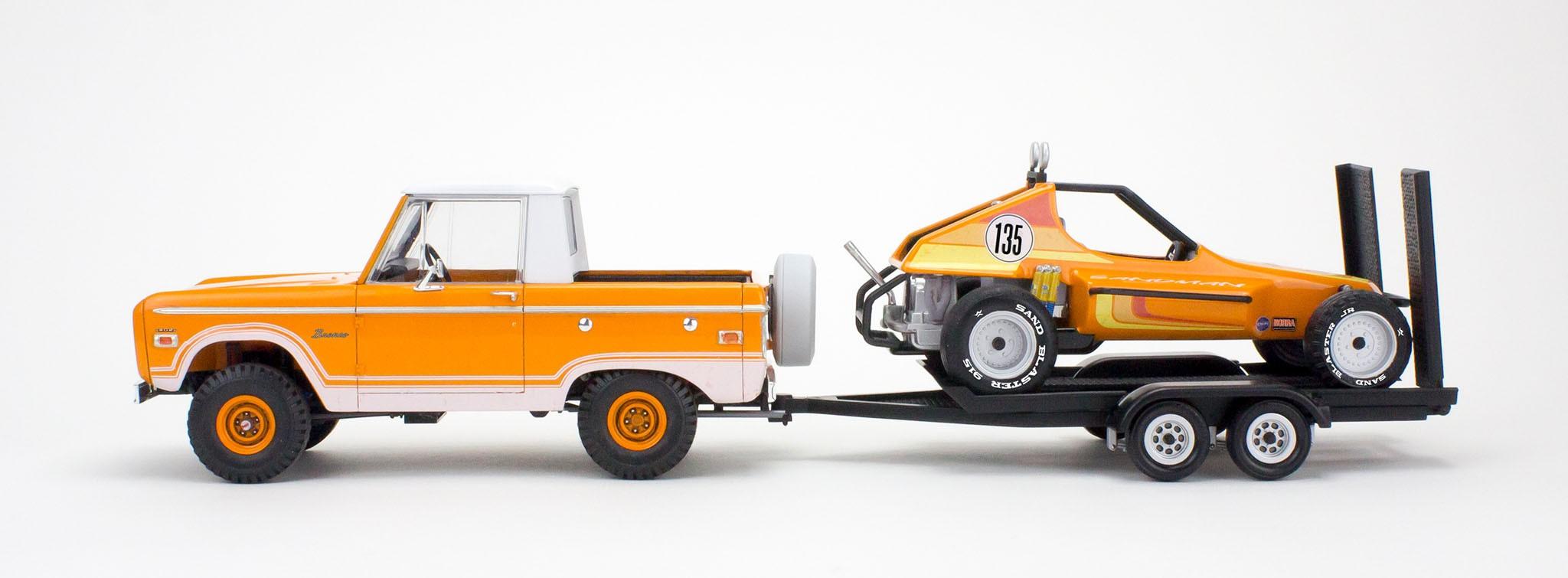 Ford Bronco Half Cab - Sandman II