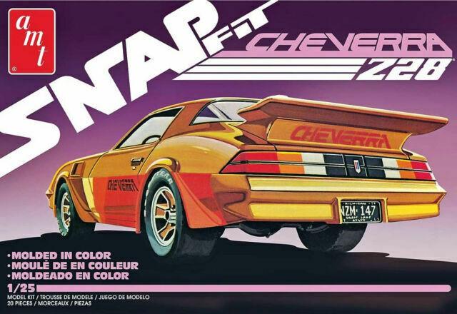 AMT Cheverra Custom 1980 Camaro Z28 Snap Kit
