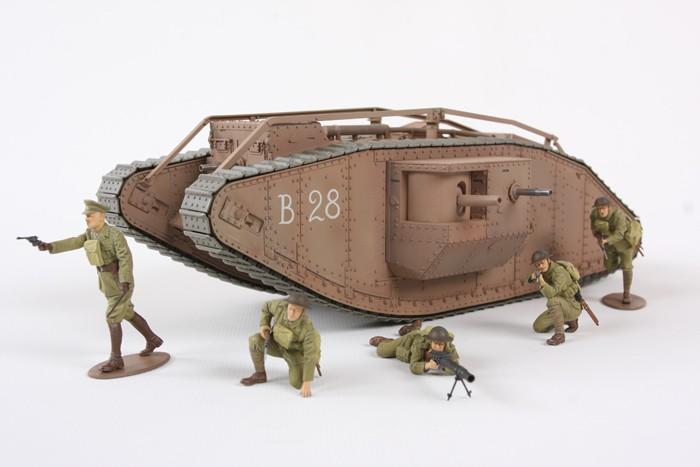 Tamiya WWI British Tank Mk.IV Male