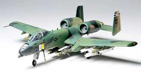 Tamiya Fairchild Republic A-10A Thunderbolt II