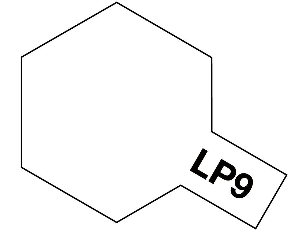 LP-9 Blanke lak, glanzend 10ml