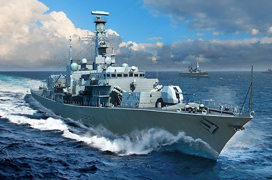 Trumpeter HMS TYPE 23 Frigate Westminster(F237)