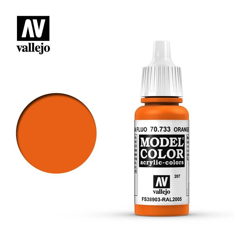 Orange Fluo (Fluorescent) 207
