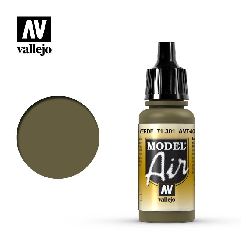 AMT-4 Camouflage Green 17ml