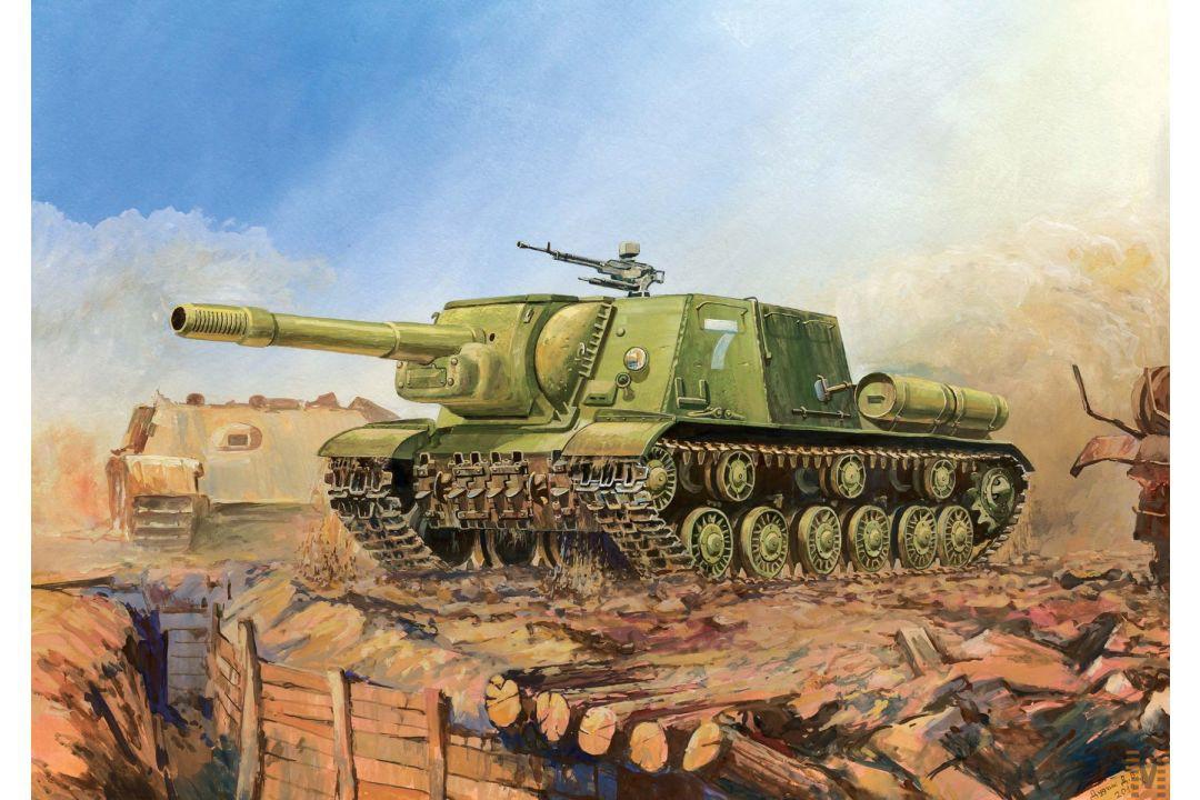Zvezda ISU-152