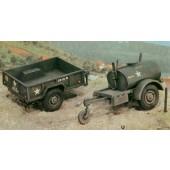 Italeri 250 GAL. S TANK TRAILER - M101 CARGO TRAILER