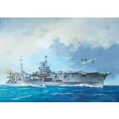 HMS Ark Royal and Tribal Class Destroyer