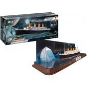 Easy-click RMS Titanic + 3D Puzzle Iceberg