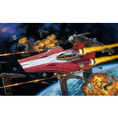 Resistance A-wing Fighter Red - Build and Play