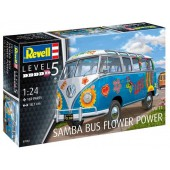 Volkswagen T1 Samba Bus Flower Power