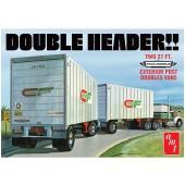 AMT Double Header Tandem Van Trailer