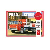 AMT Ford C600 Stake Bed w/Coca Cola Machines