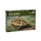 Italeri King Tiger (incl. Tankdriver)
