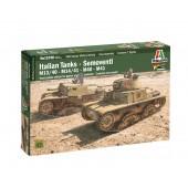 Italeri M13/40, M14/41e Semovente