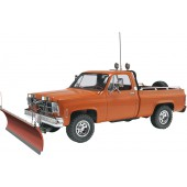 GMC Pickup with Snow Plough