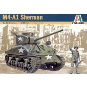 Italeri M4A1 SHERMAN