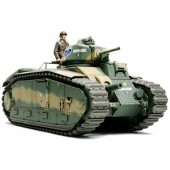 Tamiya French Battle Tank B1 bis w/Single Motor