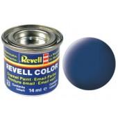 blauw, mat kleurnummer 56