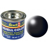 zwart, zijdemat kleurnummer 302