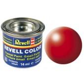 helrood, zijdemat kleurnummer 332