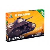 Italeri Sherman Easy to Build - World of Tanks