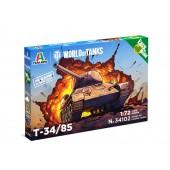 Italeri T34/85 Easy to Build - World of Tanks