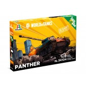 Italeri Pzkpfw. V Panther Easy to Build - World of Tanks