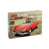 Italeri Alfa Romeo Giulietta Spider 1300
