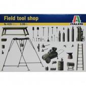 Italeri Field tool shop