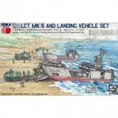 AFV Club ROC LCT Mk.6 + Landing Vehicle Set