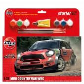 Airfix Starter Set Mini Countryman WRC