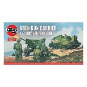 Airfix Bren Gun Carrier and 6pdr Anti-Tank