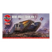 Airfix WWI Male Tank Mk.I