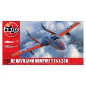 Airfix De Havilland Vampire T.11/J-28C