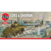 Airfix LCM3 and Sherman