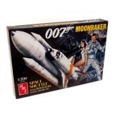 AMT Moonraker Shuttle w/Boosters James Bond